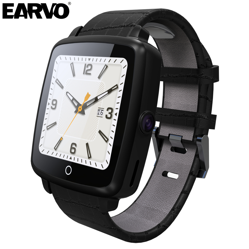 Original U Watch U11C font b Smartwatch b font Leather Strap Support Nano SIM TF Card
