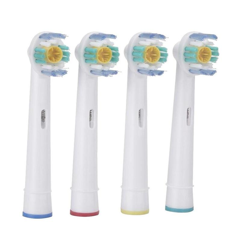 Hot Sale Electric Toothbrush Heads EB-18A Soft Bristles 3D White Pro Bright 4pcs(1pack) Free Shipping image