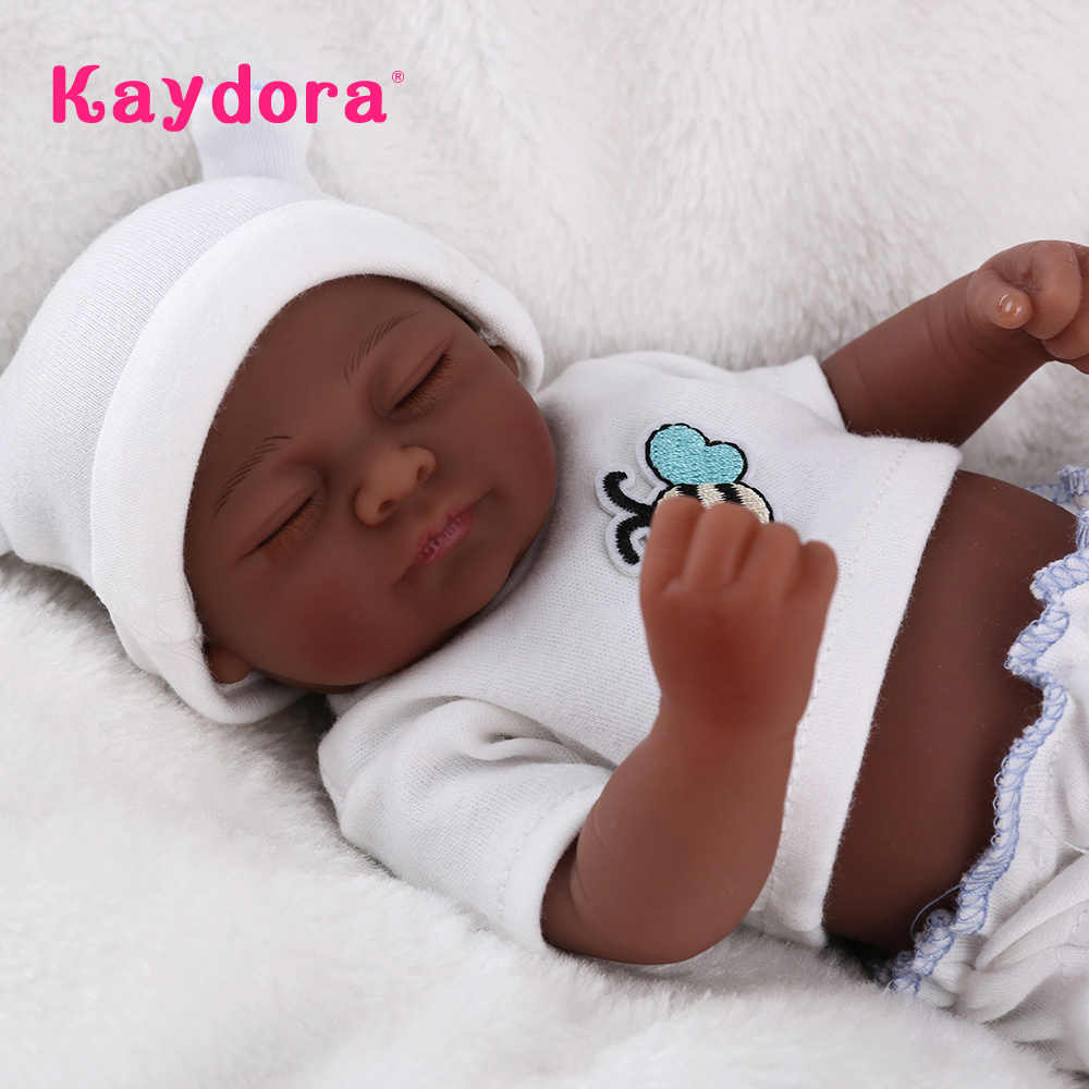 Bebê Reborn Bonecas lol 25 centímetros Bonito Mini Boneca de Corpo Inteiro De Silicone Recém-nascidos Brinquedos Para Meninas Presente de Natal para Crianças brinquedos do jogo