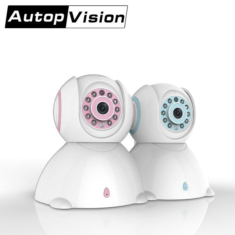 C42 2017 haut à la mode rose bleu bébé moniteur téléphone exploité Mini chambre sans fil tous les Types belle caméra support détection de mouvement