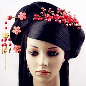 Image 2 - สีดำเจ้าหญิงอุปกรณ์เสริมผมจีนโบราณ Dynasty ผมยาวโบราณเจ้าหญิง Photo อุปกรณ์สตูดิโอ