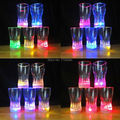 5pcs/lot  2015 New Colorful plastic Coke/Beer cups LED glowing party glasses supplies,plastic twinkling led party lights cup