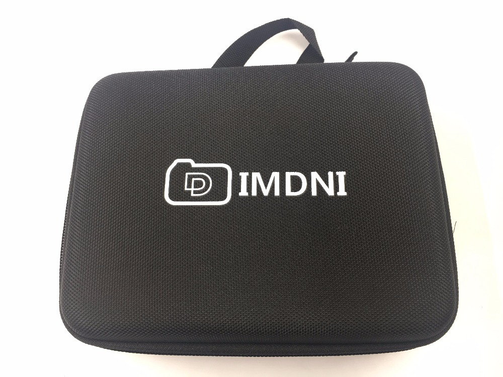 IMDNI Portable Travel Storage Case Collection Box Protective for Gopro Hero 3 4 Sj 4000 SJCAM EKEN H9R Action Camera  Accessory