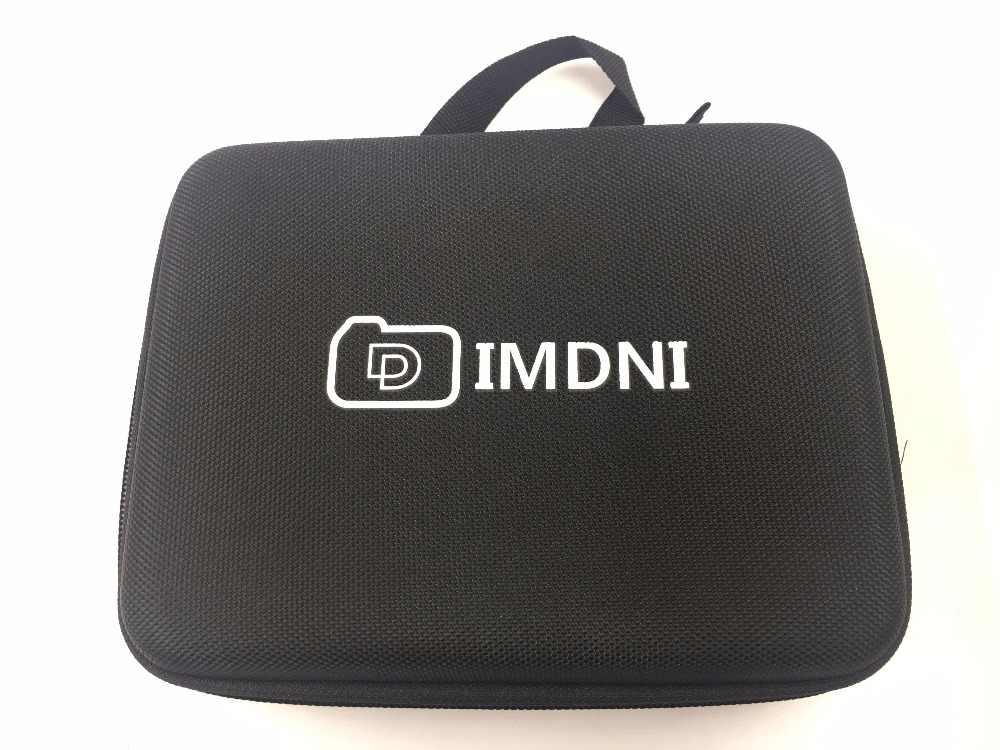 IMDNI портативный чехол для путешествий Коллекционная коробка Защитная для Gopro Hero 3/4 Sj 4000 SJCAM eken H9R аксессуары для экшн-камеры