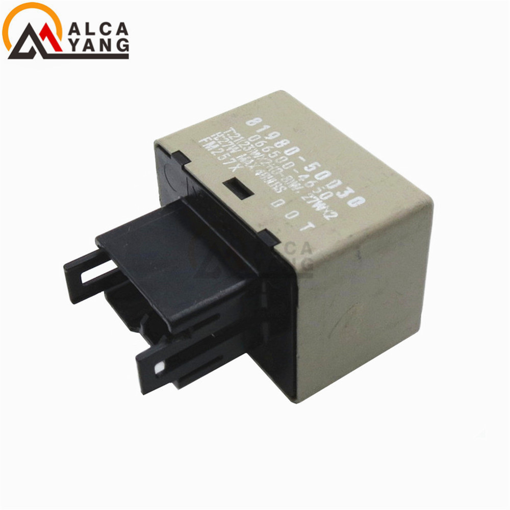 8 Pin LED Flasher Relay module Fix Signal Light hyper Flash blinker For Toyota Lexus 81980-50030 066500-4650 ...
