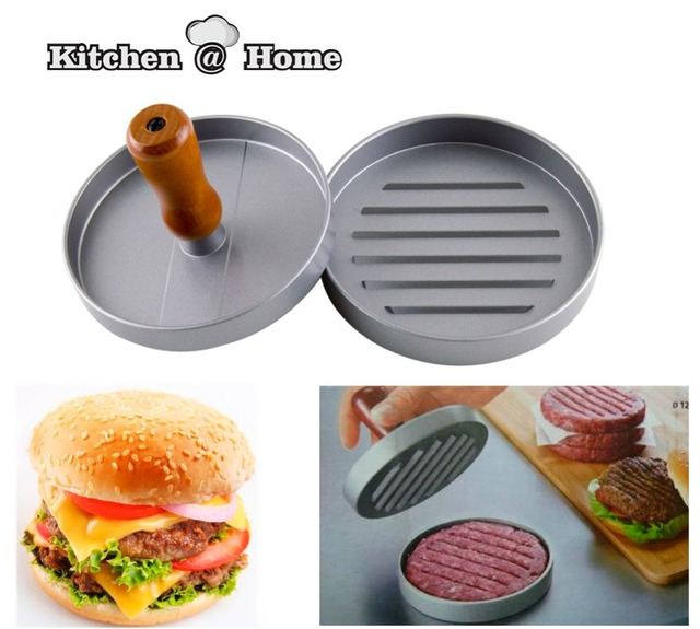 Single Hamburger Press