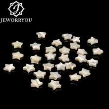 natural stone beads white 8mm 10mm 15mm five-pointed star tridacna beads wholesale DIY making bracelet necklace Jewelry charms long 80 inches 7 8mm white akoya cultured pearl necklace beads hand made jewelry making natural stone ye2077 wholesale price