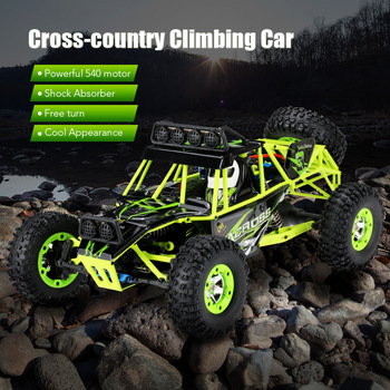 2.4G 4WD Wltoys 12428 1/12 RC Car 4wd Electric Brushed Racing Crawler RTR High Speed RC Off-road Vehicle Car Remote Control Car