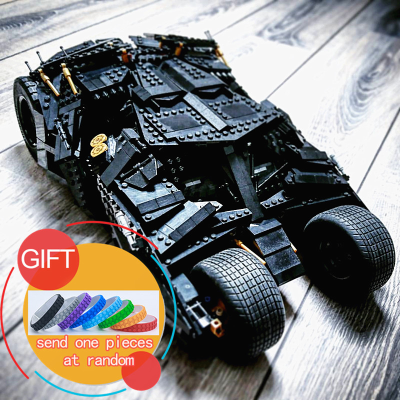 07060 1969Pcs Super Movie Hero Batman The Tumbler set Compatible with 34005 76023 Building Blocks Gift Toys for Children lepin building blocks super heroes batman chariot the tumbler batmobile batwing joker mini bricks 34005 07060 lepintoys