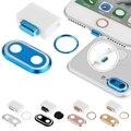 """Nueva Alta Calidad 3 En 1 Cámara Posterior Cover + Home botón Anillo + Enchufe Anti Del Polvo para el iphone 7 4.7 """"para el iphone 7 Plus 5.5"""""""