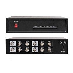 סיטונאי 4-8ch AHD וידאו מפיץ/ספליטר BNC 4 קלט 8 פלט, תמיכה AHD/CVI/TVI מצלמה ובהחוצה, מרחק מרבי כדי 600 M