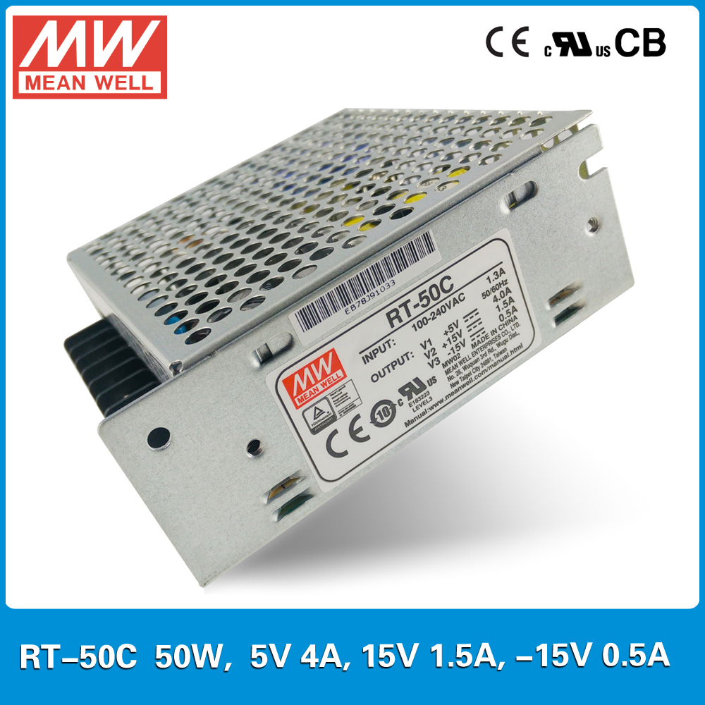 original mean well rt 50c 50w triple output 5v 4a 15v 1 5a 15v 0 5 rh aliexpress com what does r/t mean on a bmw what does r/t mean in a care plan