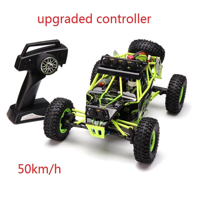 (Ship from US) 50km/h 4WD RC Car WLtoys 12428 2.4G 1:12 4WD Rock Crawler Cross Country Climbing Car Off Road...