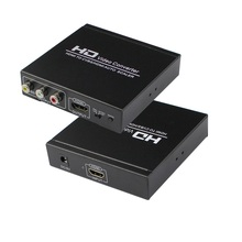 HDMI to CVBS/HDMI auto scaler, convert HDMI to CVBS(3RCA),no pc required, easy to operate,  HDCP code. HDMI1.3 auto scaler hdmi to hdmi cvbs hdmi rca converter support hdcp protocol free shipping