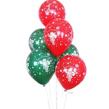 Dark green balloon 50pcs/lot12 inch 2.8g spherical latex red Christmas balloons happy new year decoration 2019 kids toys