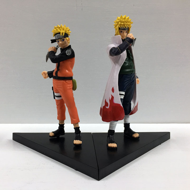 16cm Anime Figure Toy Naruto Namikaze Minato Figurine Statues Collections NO BOX