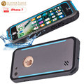 Caso original para iphone 7 à prova d' água ip68 subaquática slim casos de metal de alumínio à prova de vida água capa protetora para iphone7