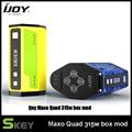 Original maxo quad tc ijoy mod 510 hilo 5-315 w ajustable Potencia de salida TC Caja Vape Mod Compatible con 18650 Batería Mod