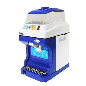 1 PC 220 V elétrico de grande capacidade Comercial máquina de gelo máquina de gelo do floco de neve  Trituradores De Gelo máquina de Gelo Picado