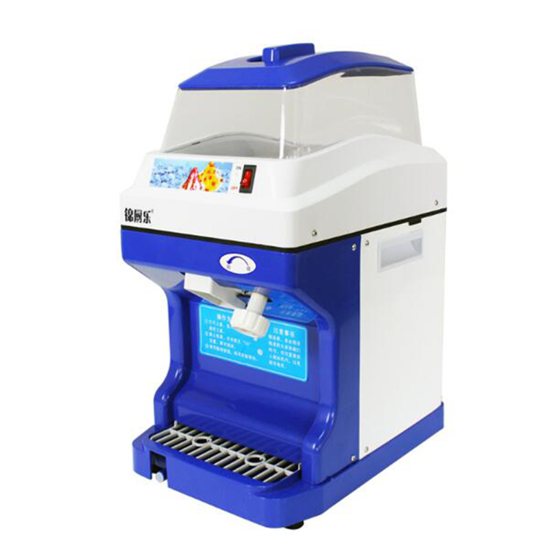 1PC 220V Commercial Large Capacity Electric Snow Ice Machine Ice Machine, Machine Crushed Ice Ice Crushers