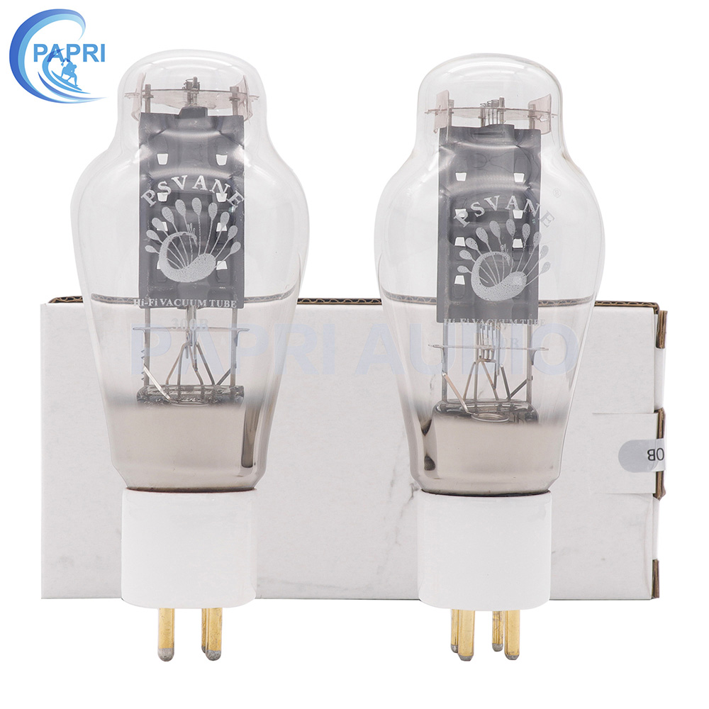 1 Matched Pair PSVANE HIFI 300B VACUUM Power Tube 300B Original Factory Test and Match For