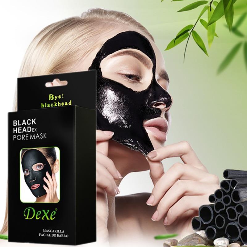 10pcsSet  20ml Peel-off  Blackhead Remover Cream Face Mask Black Mud Deep Cleansing Purifying Peel Acne Large