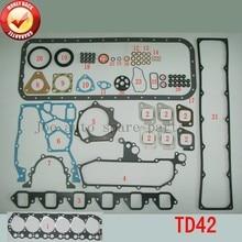 TD42 Motor juego de juntas Completo kit para Nissan Patrol GQ Y60 4.2L 1988-1997 10101-VB285 51028400 10101VB285