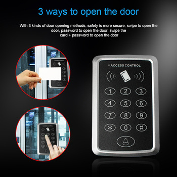 Home Security Single RFID Card Entry Door Lock Access Control System DJA99