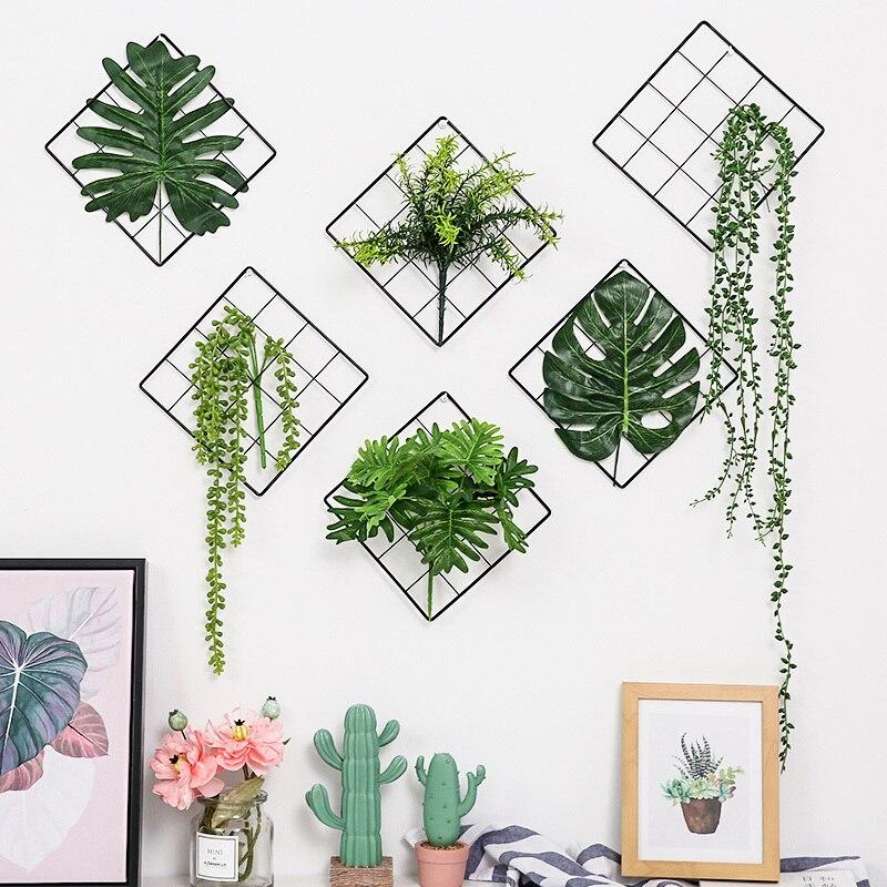 Artificial Plants Wall Decorations
