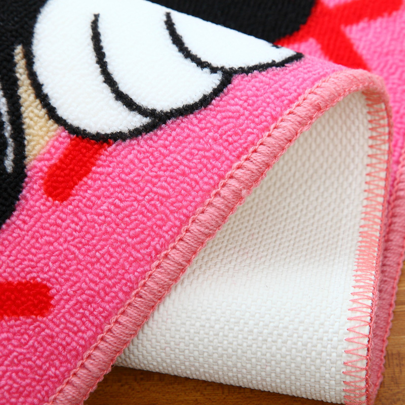 Hot Sale Micky Mouse And Minnie Mouse Floor Mat Kid Carpet Giils Pink Rugs  Lovely Living Room Bedroom Bathroom Hallway In Carpet From Home U0026 Garden On  ...