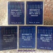 10 SCHMETZ DBXK5 1738 SES SUK Размер#9#11#12#14#16 иглы для вышивальной машины для TAJIMA, SWF toyada Happy barudan zsk melco