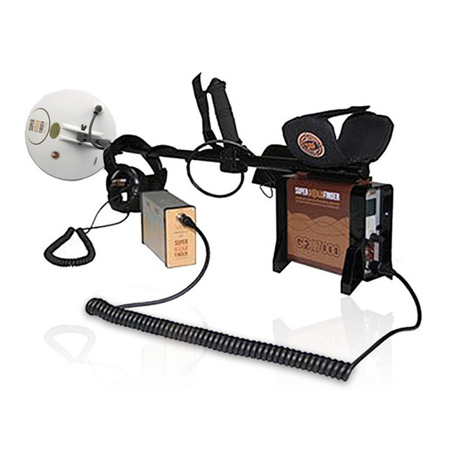 Underground Metal Detector GFX7000 Deep Search Gold Detector GFX-7000 High Performance Underground Gold Finder GFX 7000