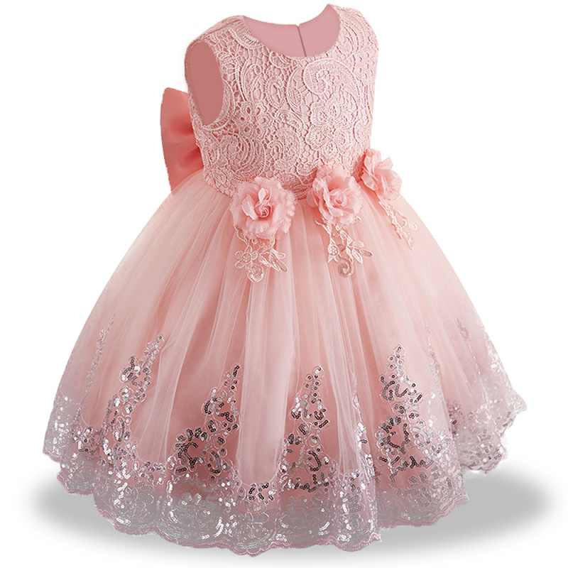 a2334adbccc Lace Girl Summer Clothes Newborn Baby Dress Kids Party Wear Princess  Costume For Girl Tutu Infant