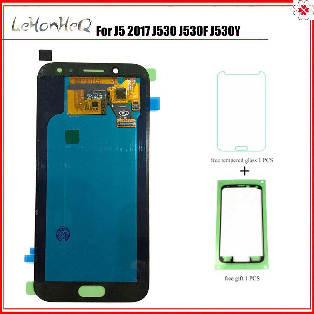 OLED Pour samsung Galaxy J5 Pro 2017 J530 J530F J530Y LCD AFFICHAGE Écran tactile Numériseur Pour samsung J530 LCD D'ORIGINE