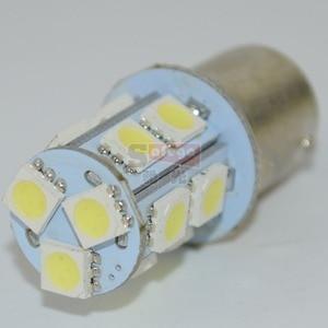 Image 3 - Safego 10 adet P21W 1156 1157 LED dönüş sinyali ampul 5050 13 SMD S25 BAY15D BA15S araba fren park lambaları park lambası 12V beyaz