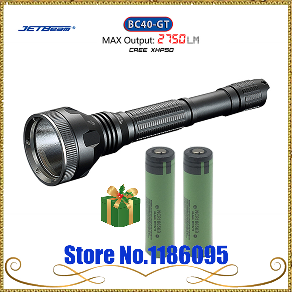 Super Jetbeam BC40GT BC40-GT Flashlight / Searchlight -2750Lm -CREE XHP50 LED Flashlight олимпийка oldos oldos mp002xc001b0