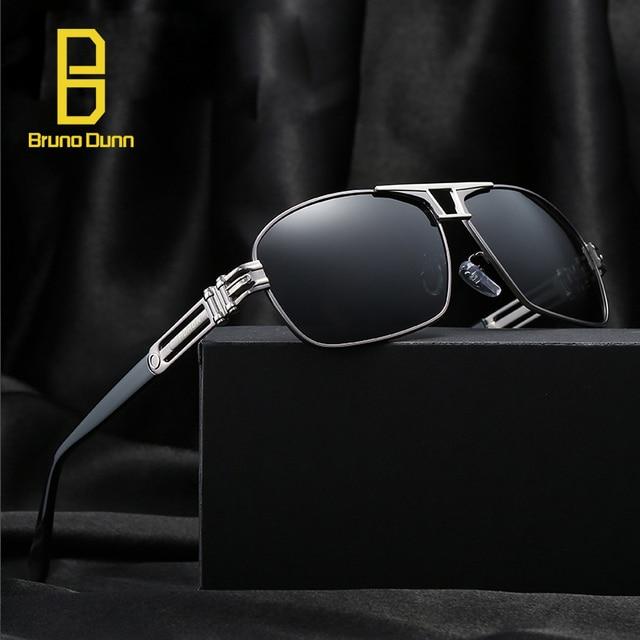 1a0b0d7a8 Designer Brand Polarizerd Sunglasses Square Mirror Sun Glases Male Uv400  Eyewear For Men Oculos Masculino Polarizado