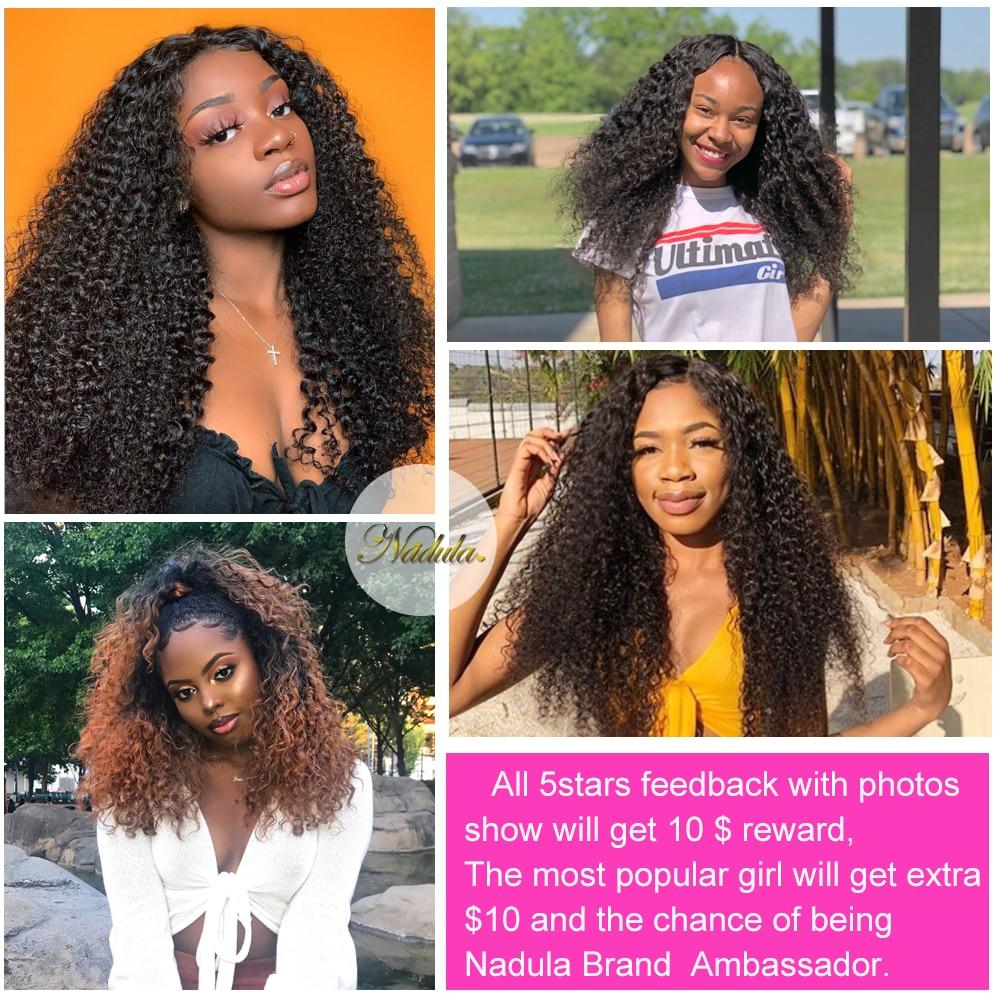 Nadula Hair 3PCS  Curly Hair s 3 Bundles  s Natural Color   Hair  Bundles 5