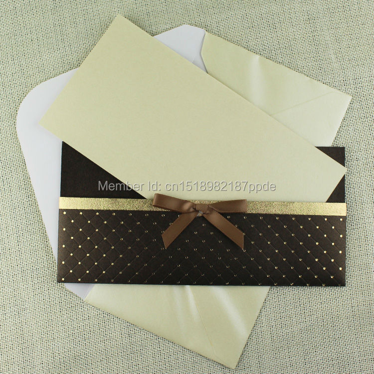 60 pcs/lot Lowest Price of Paper Wedding Invitation Cards In ...
