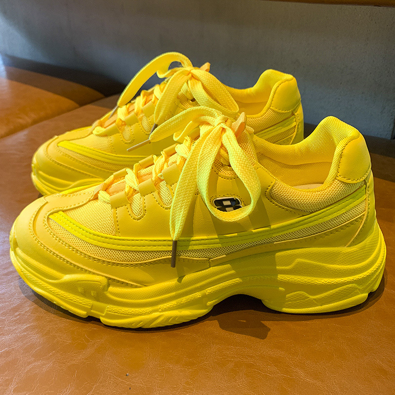 Candy-Colored Fashion Sneakers Women Mesh Ventilation Comfortable Casual Shoes Fashion Female Trainers Ulzzang Shoes Woman