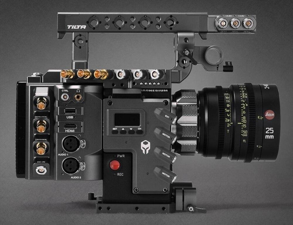 TILTA pour ROUGE DSMC2 Caméra Rig A1 TILTA ESR-T01-A1 Cage caméra Rig + ROUGE I/O module Pour ROUGE ARME CORBEAU SCARLET-W