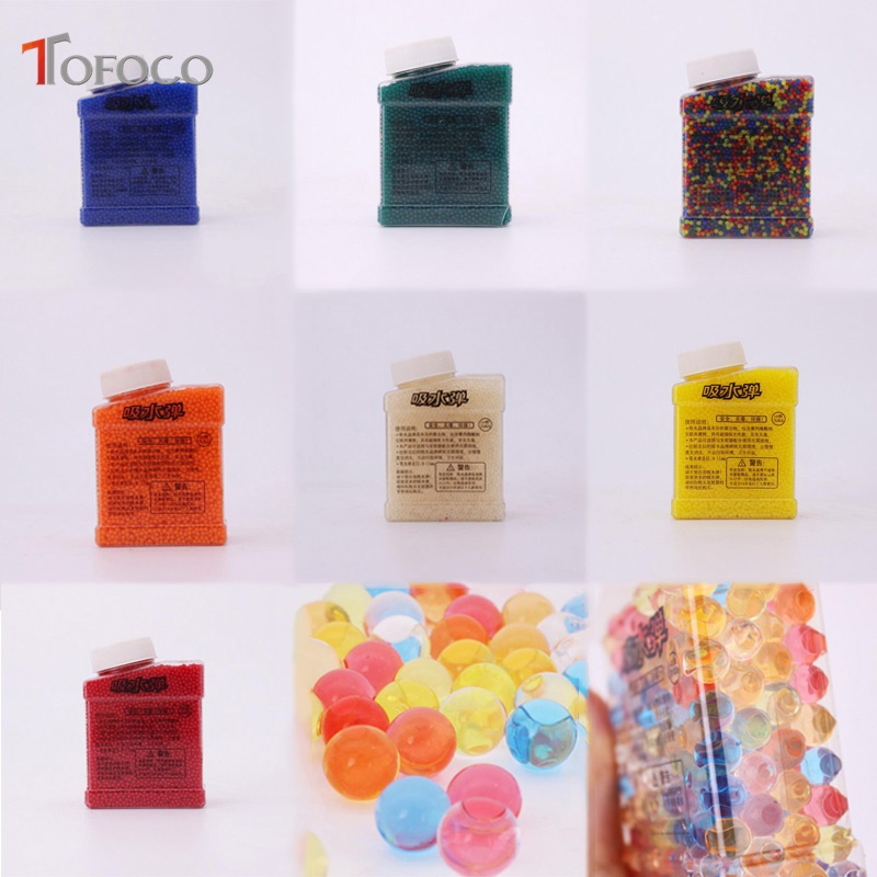 Bath Toy Tofoco 20000pcs/box Orbeez Toys Crystal Water Paintball Bullet Grow Beads Grow Water Ball Orbeez Gun Toys For Pistool Kids Buy One Get One Free Classic Toys