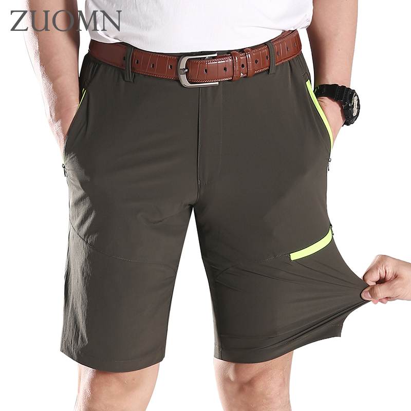 Fashion Mens Cargo Shorts Quick-drying Summer Man Short Trousers Big Size Brand Loose Wicking Men Beach Casual Trousers G6