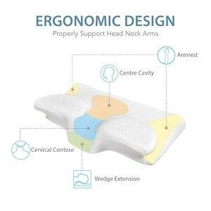Image 4 - CPAP קונטור עבור אנטי לנחור זיכרון קצף קונטור עיצוב מפחית פנים מסכת לחץ & דליפות אוויר CPAP ספקי