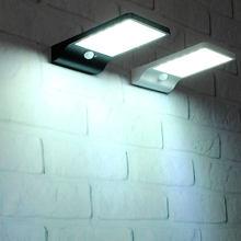 Farola Solar LED jardín al aire libre iluminación 450lm PIR Sensor de movimiento Solar bombillas de luz LED Plaza lámpara de calle Solar linternas