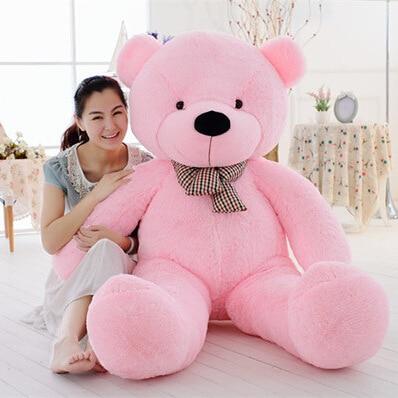 2017 BEAR Stuffed Toys Giant Jumbo Size 160cm Birthday Christmas Gift Large  Big Teddy Bear Plush Toy 7bbc45c334