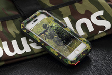 Premium Protection For Apple iPhone 6 6S Plus Metal Case Shockproof Waterproof Military Camouflage Hard Phone Case Back Cover