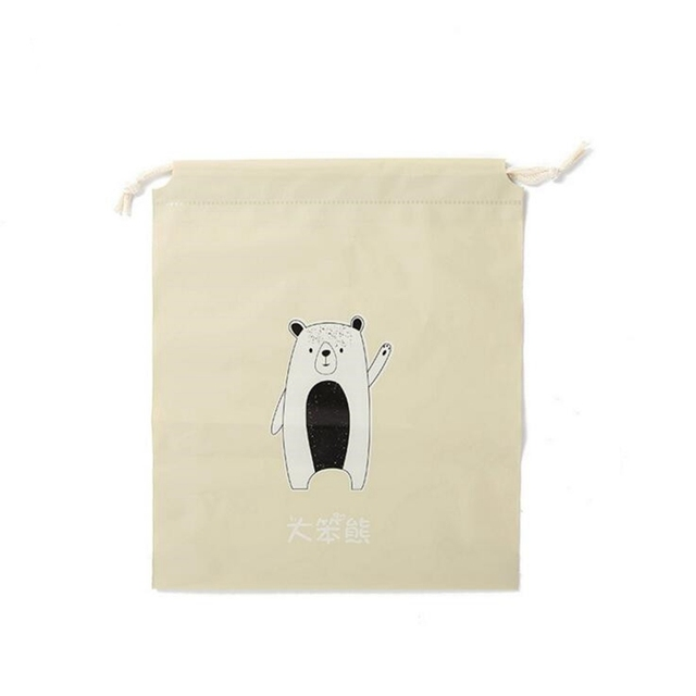 Cartoon Draw Pocket Travel Accessories Drawstring Bag Business Trip Storage Bag For Cloth And Shoe Functional Bag Box 4