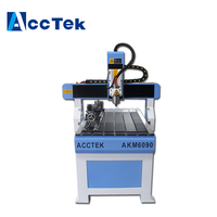 AKM6090 professional supplier high precision cnc 6090 router engraver for furniture