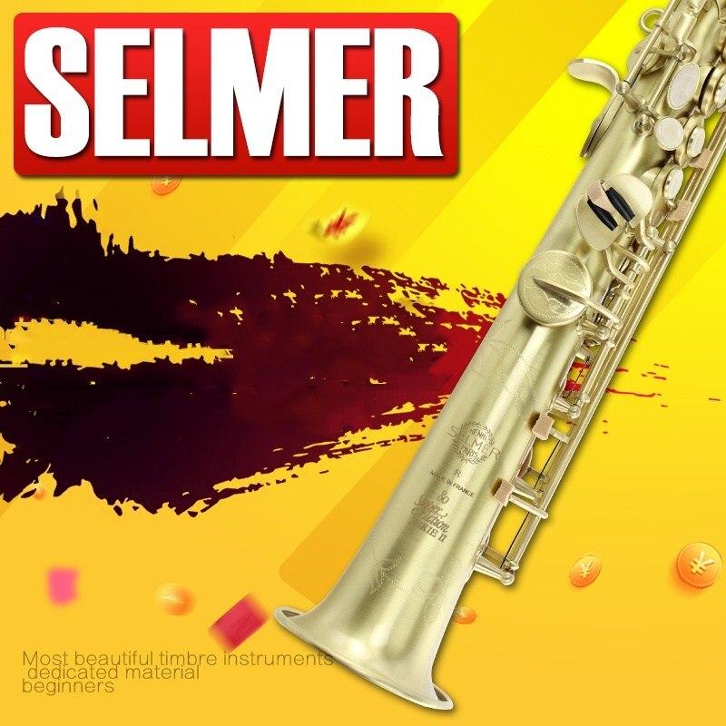 New selmer 802 B flat Soprano sax straight TOP Music instrument Saxophone DHL/EMS Free shipping dhl ems 5 sests 1pc honeywell limit switch szl wlc b szl wl c b szlwlcb new in box